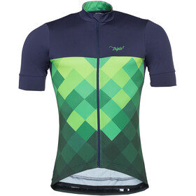 Triple2 Velozip Performance Bike Jersey Shortsleeve Men Jersey Men green/blue